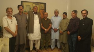 Photo of سابق وفاقی وزیر چودھری محمد شہباز کے اعزاز میں پاکستان جرنلسٹ فورم کے صدر خالد نواز چیمہ کا عشائیہ