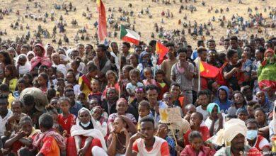ٹگرے سے ہزاروں مہاجرین سوڈان فرار ہوگئے ہیں