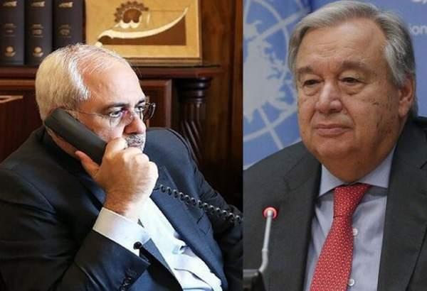 ایران ماضی کی طرح اقوام متحدہ کا ساتھ دے