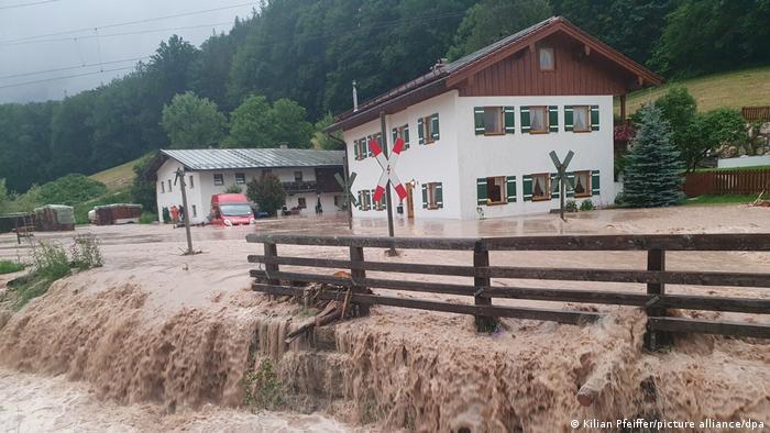 بویریا میں سیلاب